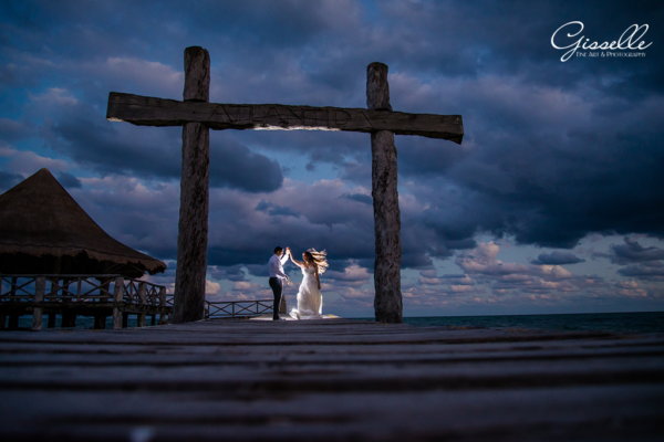 Suzy & Miguel @Trash the Dress @Mirador 2 Cancun