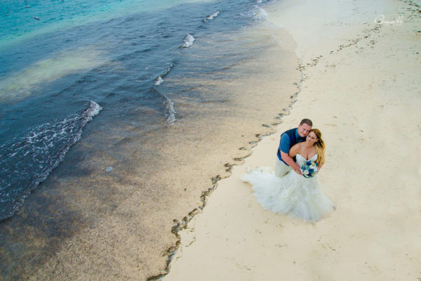 Kimberly & George @Azul Beach