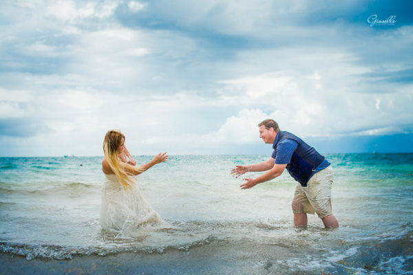 Kym & Geroge Trash the Dress